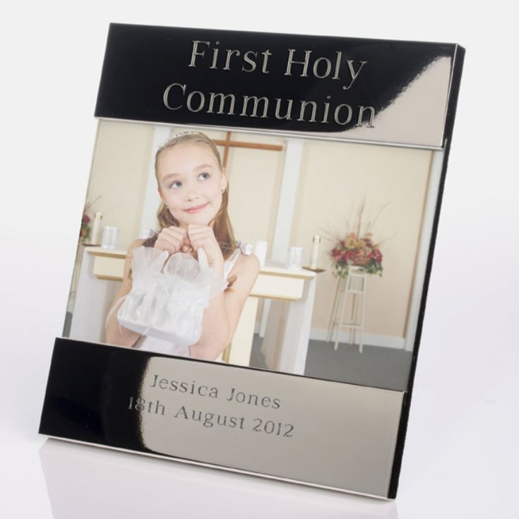 Engraved First Holy Communion Photo Frame product image