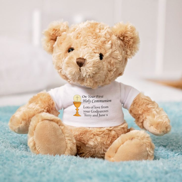 Personalised First Holy Communion Bear product image