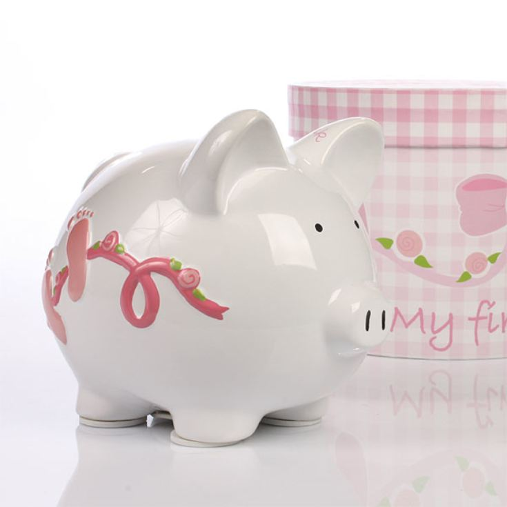 Personalised My First Piggy Bank product image