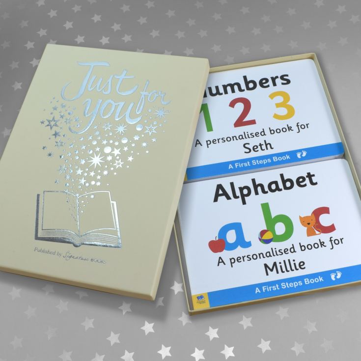 Alphabet & Numbers Board Book Gift Set product image