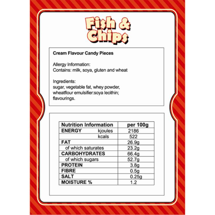 Candy Fish and Chips Box product image