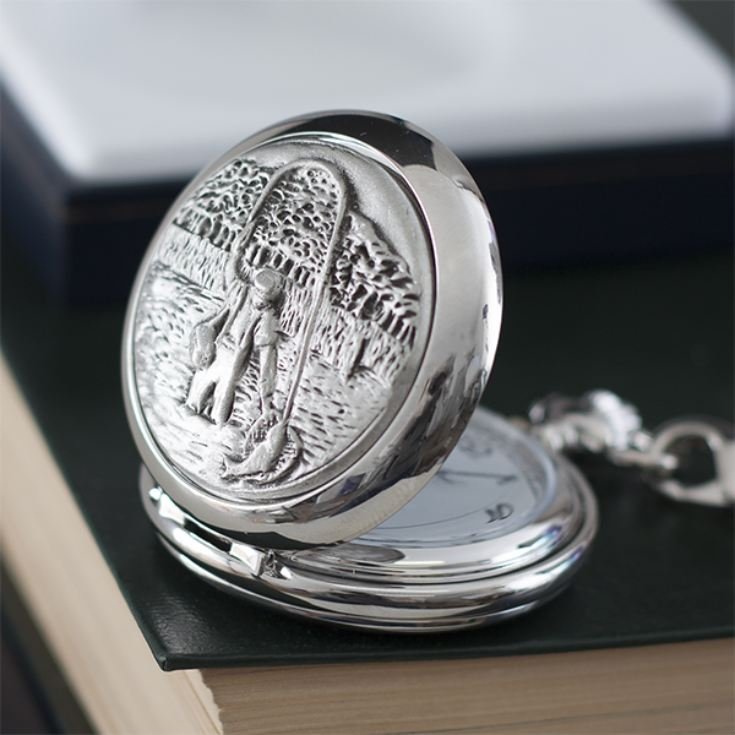 Personalised Fishing Pocket Watch product image