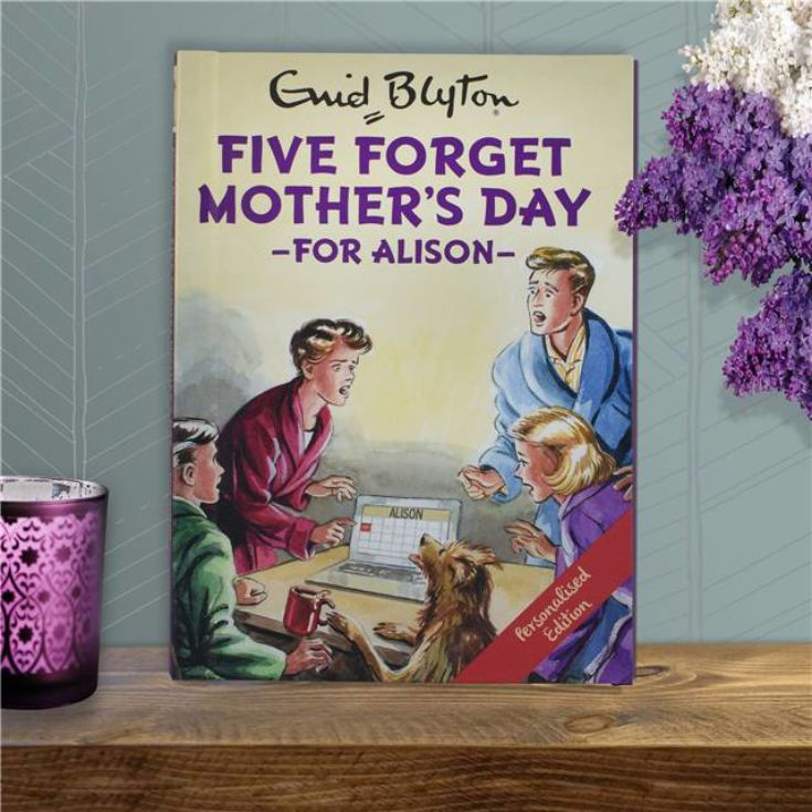 Personalised Enid Blyton Book - Five Forget Mothers Day product image