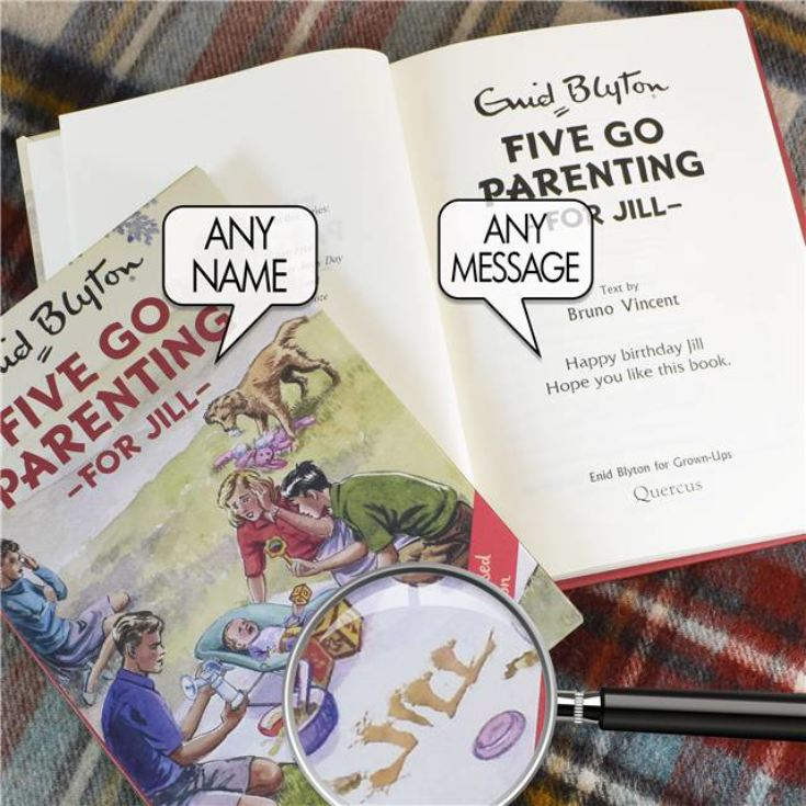 Personalised Enid Blyton Book - Five Go Parenting product image