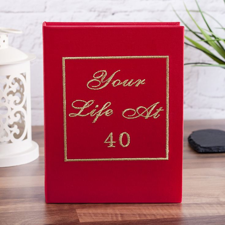 Your Life At 40 Photo Album product image