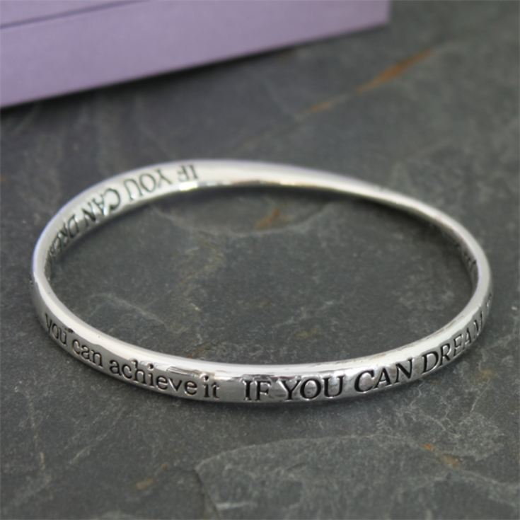 If You Dream It, You Can Achieve It - Bracelet in Personalised Box product image