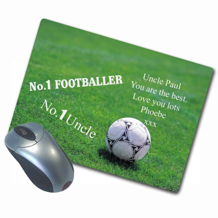 Personalised Sports Design Mousemat product image