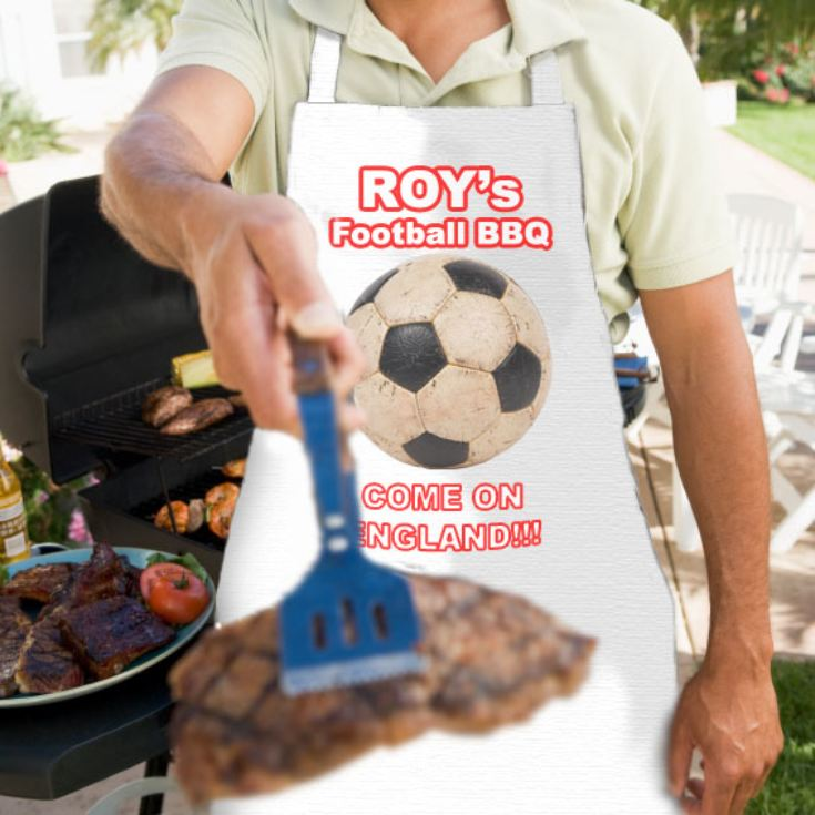 Football BBQ Apron product image
