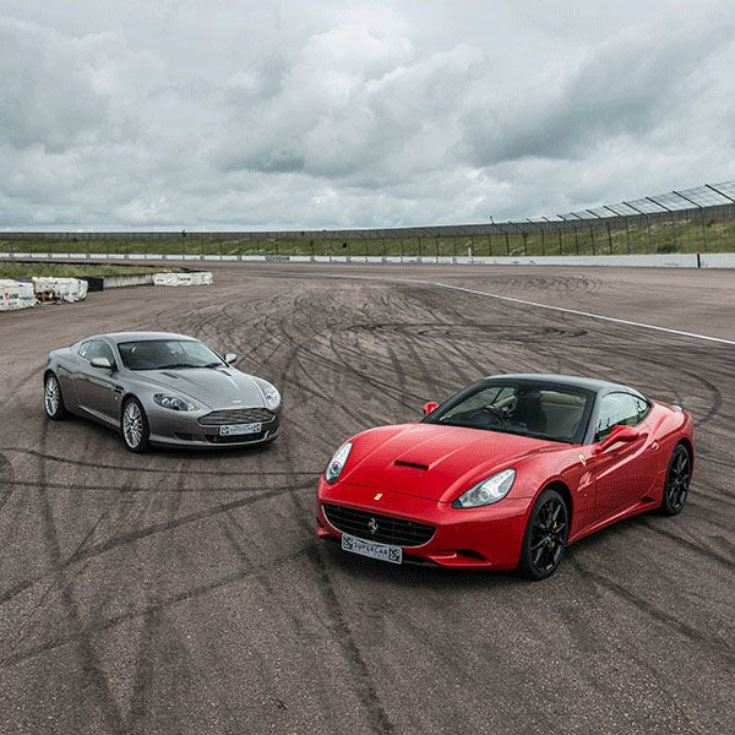 Five Supercar Driving Blast with Free High Speed Passenger Ride - Week Round product image
