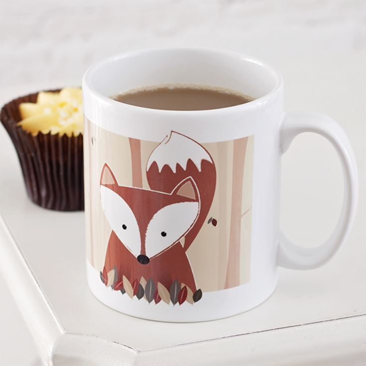 Personalised Woodland Fox Mug product image
