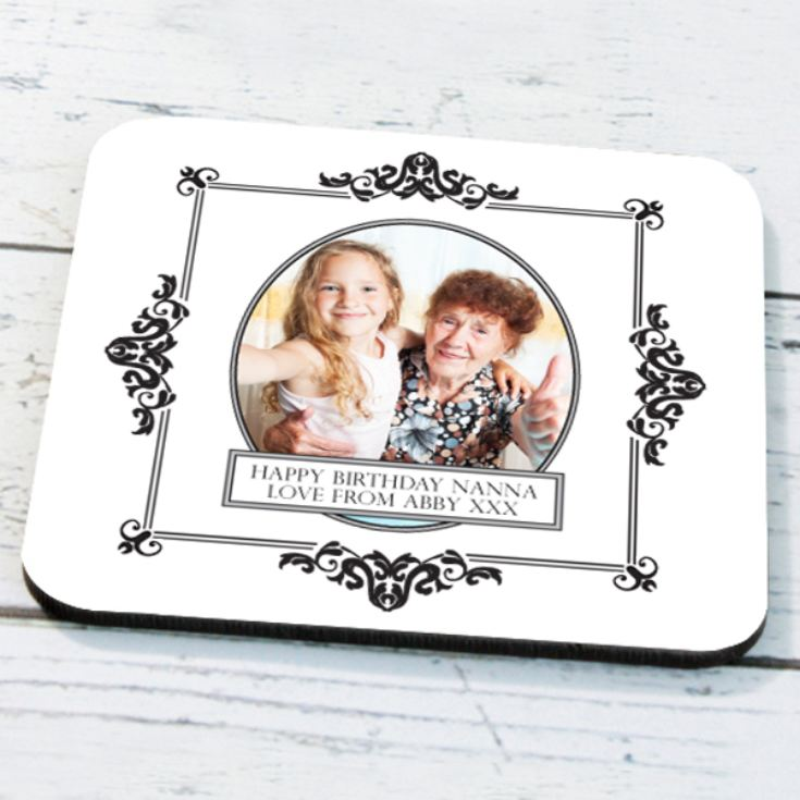 Personalised Framed Photo Coaster product image