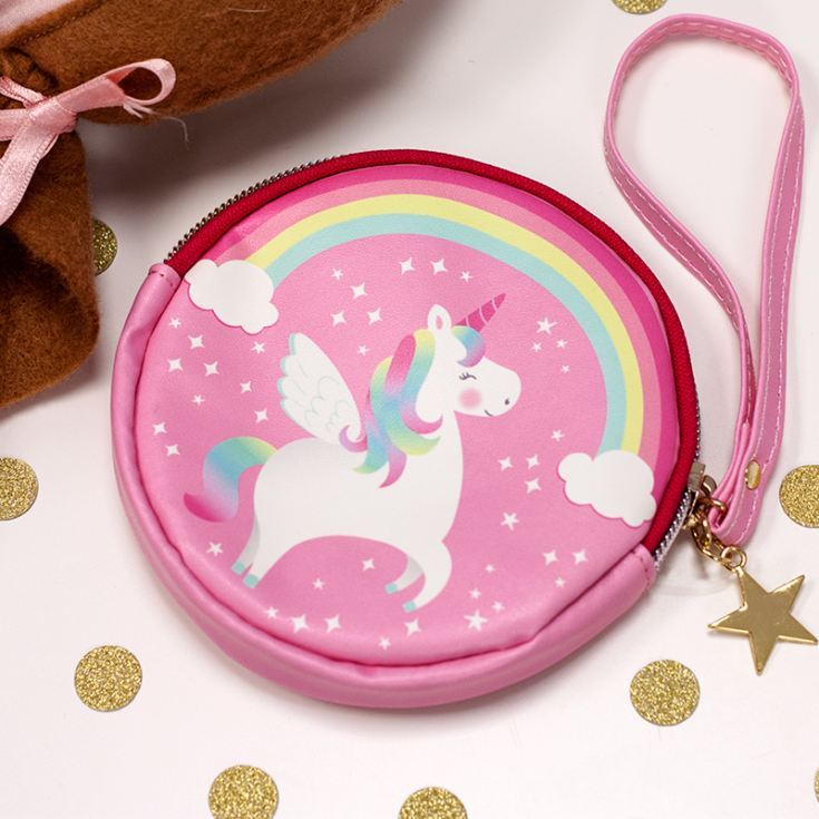 Rainbow Unicorn Coin Purse product image