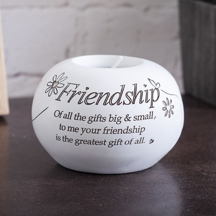 Friendship Tea Light Holder product image