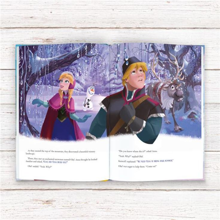Personalised Disney Frozen Adventure Book - Large Hardback product image