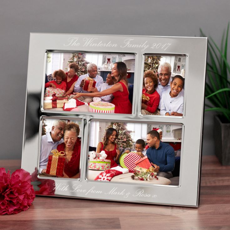 Engraved Collage Photo Frame product image