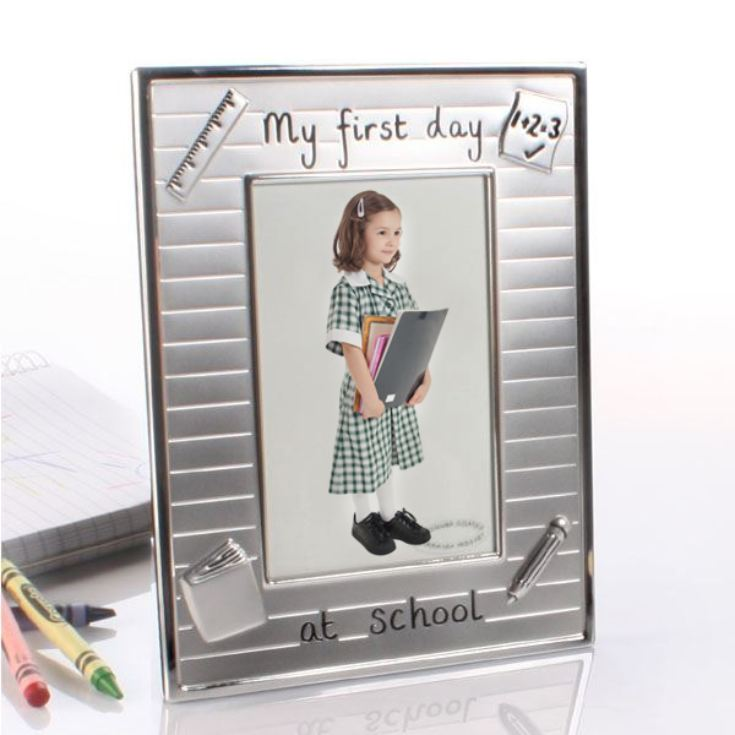 My First Day at School Photo Frame | The Gift Experience
