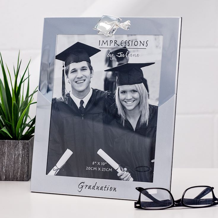 Silver Plated 8 x 10 Graduation Frame product image