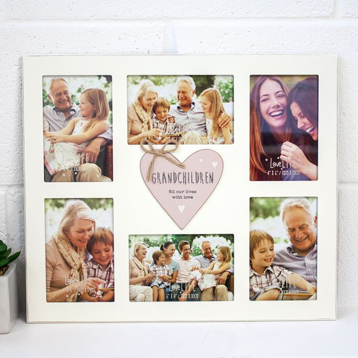 Love Life Grandchildren Collage Frame | The Gift Experience