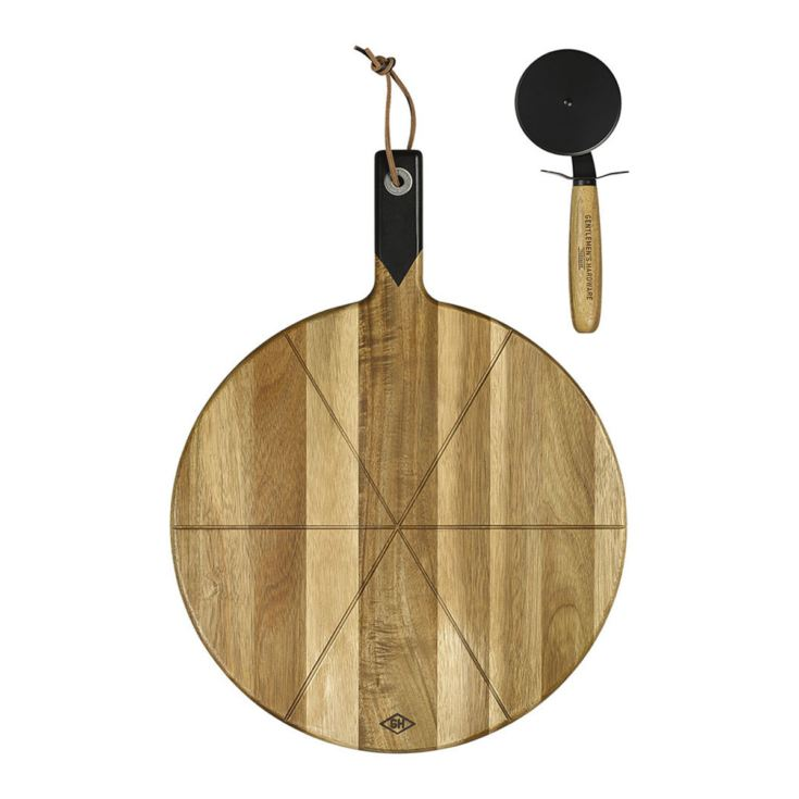 Gentlemen's Hardware Pizza Cutter & Serving Board product image
