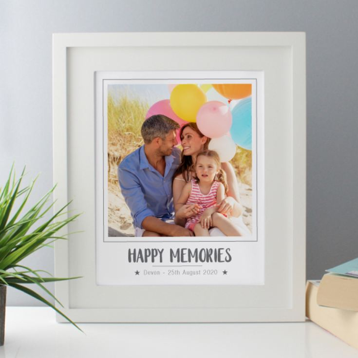 Personalised Photo Framed Print product image