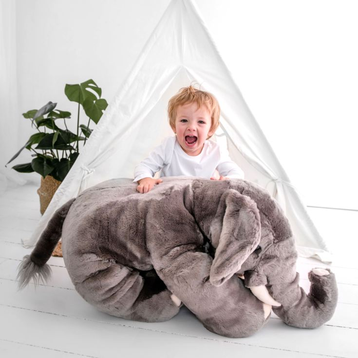 Giant Elephant 110cm Soft Toy product image