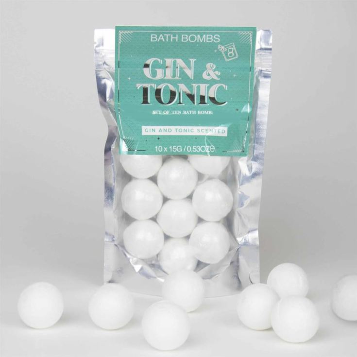 Gin and Tonic Bath Bombs product image