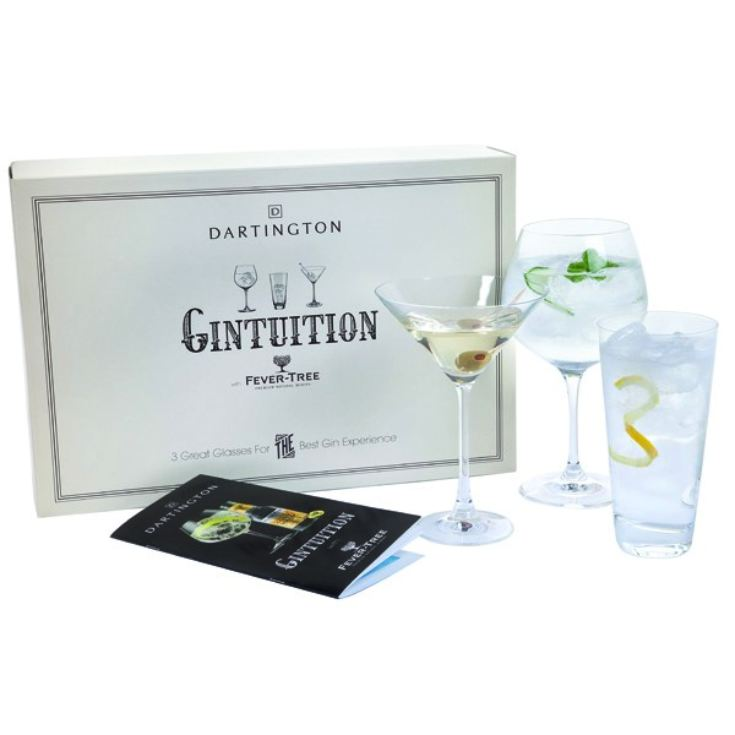 Personalised Dartington Gintuition Set product image