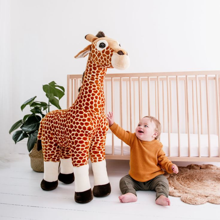 Giant Giraffe Soft Toy - 100cms product image