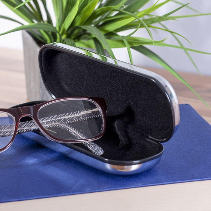 Personalised Chrome Glasses Case product image