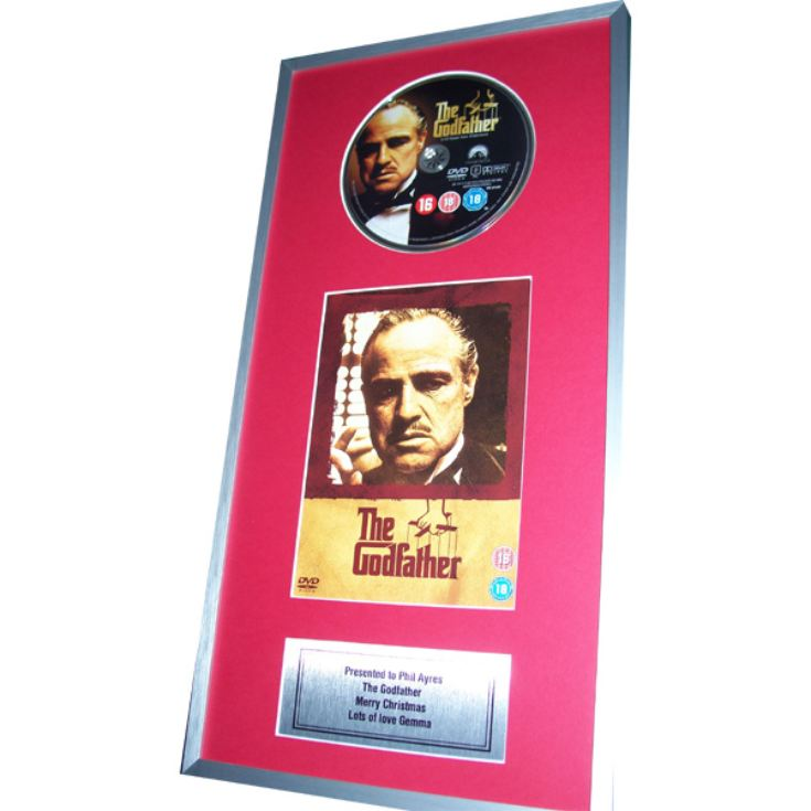 Personalised Framed DVD product image