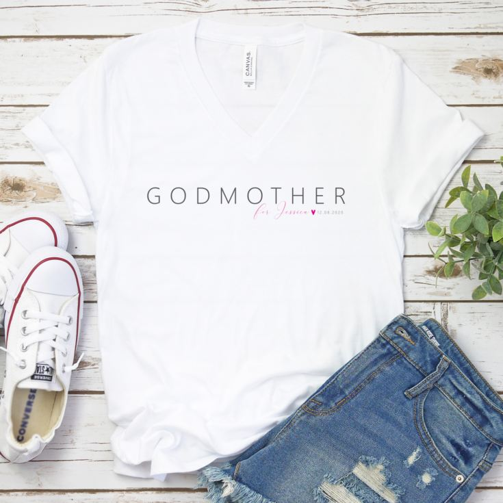 Personalised Godmother T-shirt product image