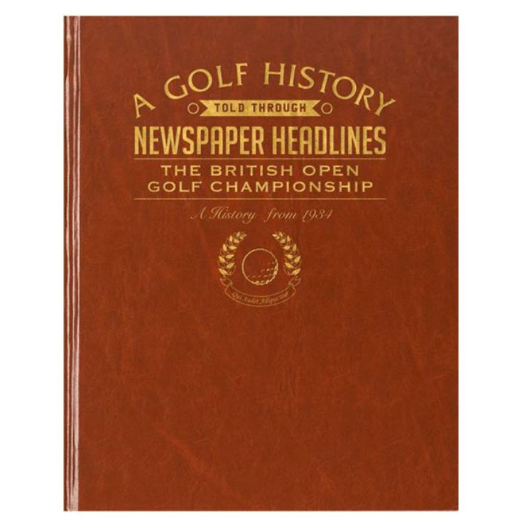 Personalised Golf Book product image