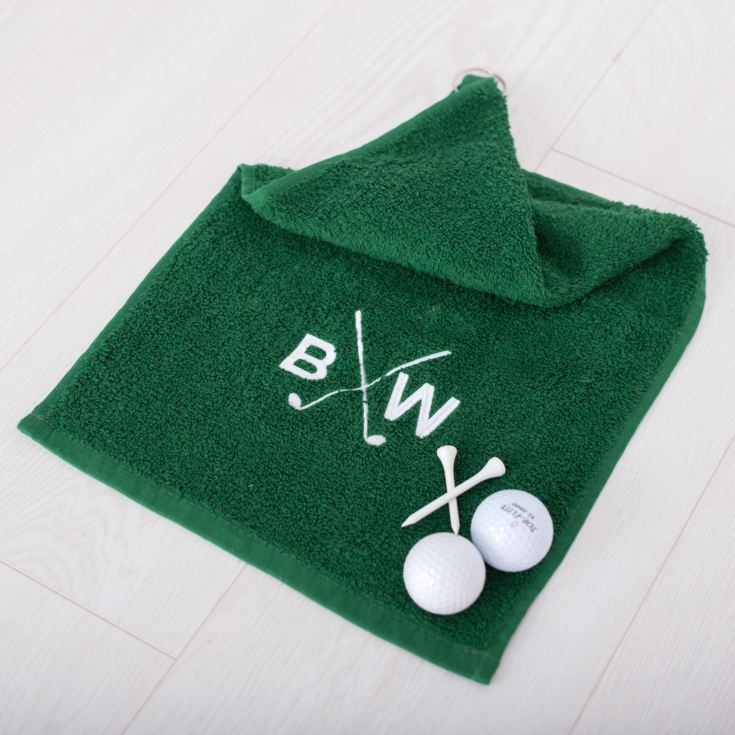 Personalised Luxury Golf Towel product image
