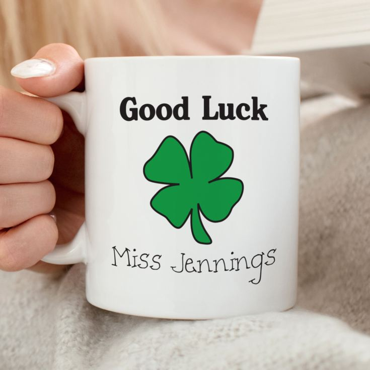 Good Luck Personalised Mug product image