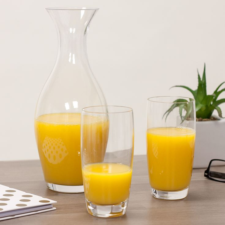 Personalised Dartington Zest Carafe With Highball Glasses product image