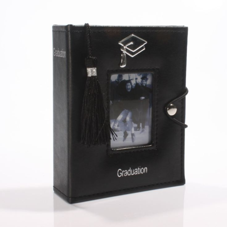 Black Graduation Album with Tassel product image