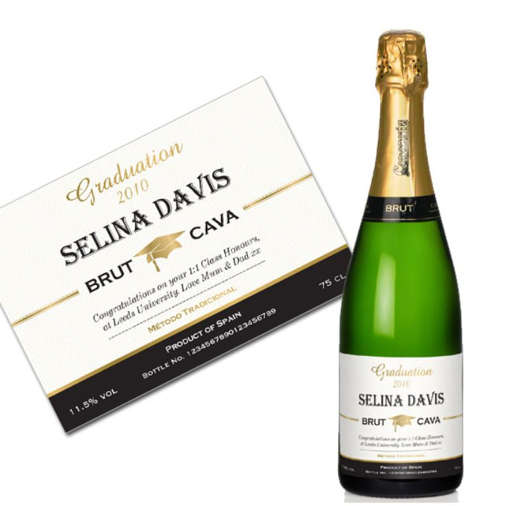 Personalised Graduation Cava product image