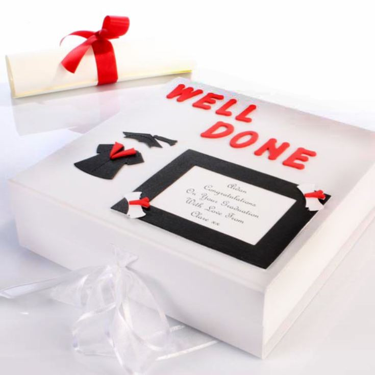 Personalised Graduation Memory Box product image
