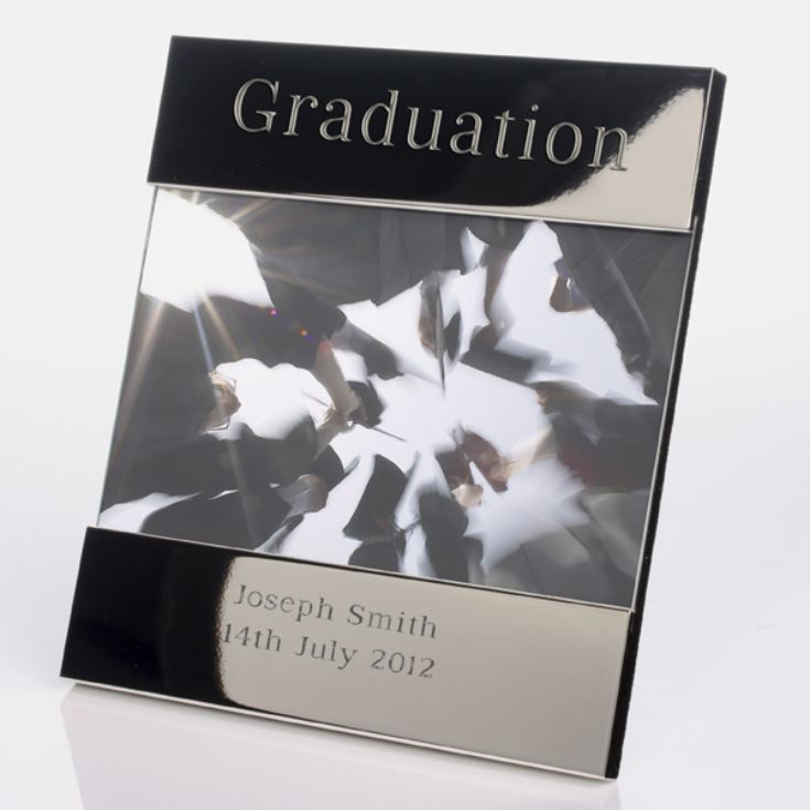 Engraved Graduation Photo Frame product image