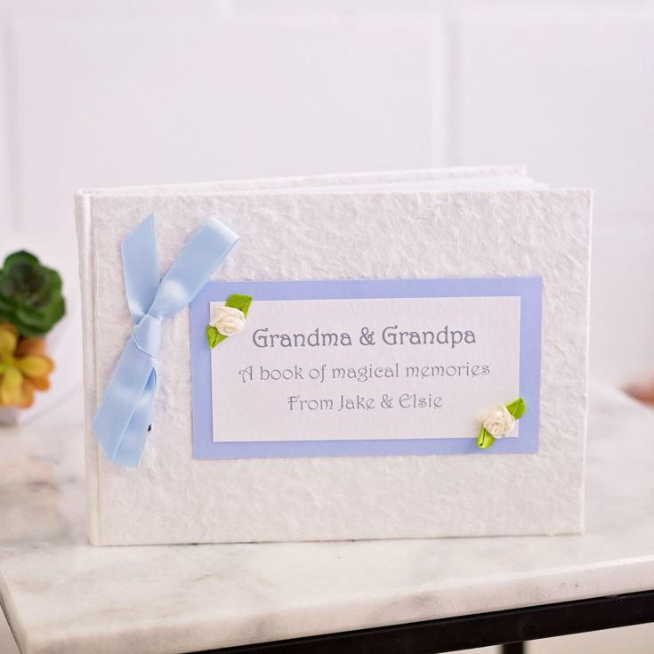 Personalised Grandparents Memory Photo Album product image