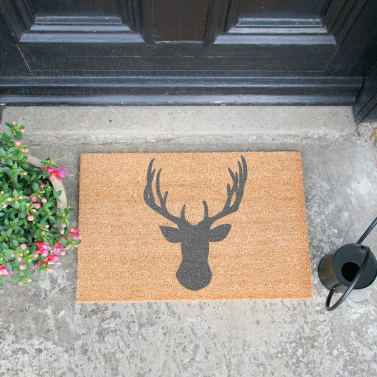 Stag Head Doormat product image