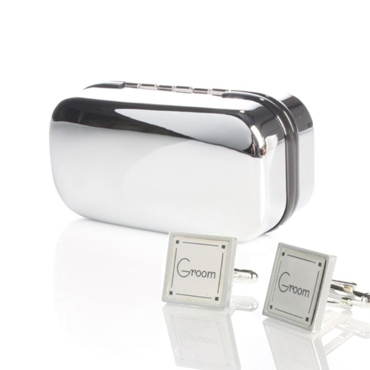 Personalised Groom Cufflinks product image