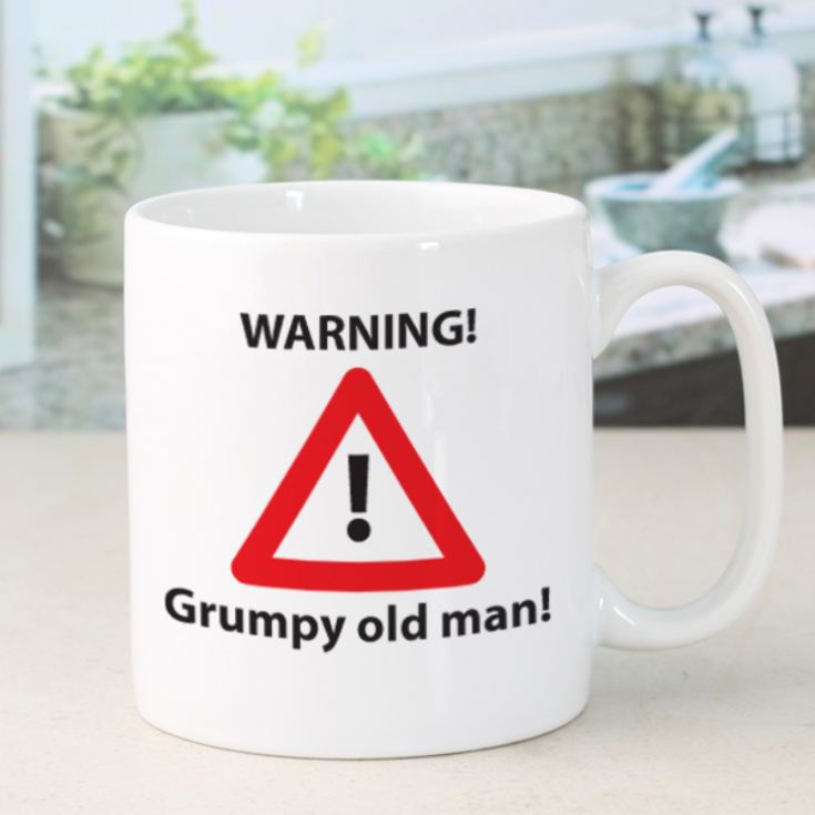 Personalised Grumpy Old Man Mug product image