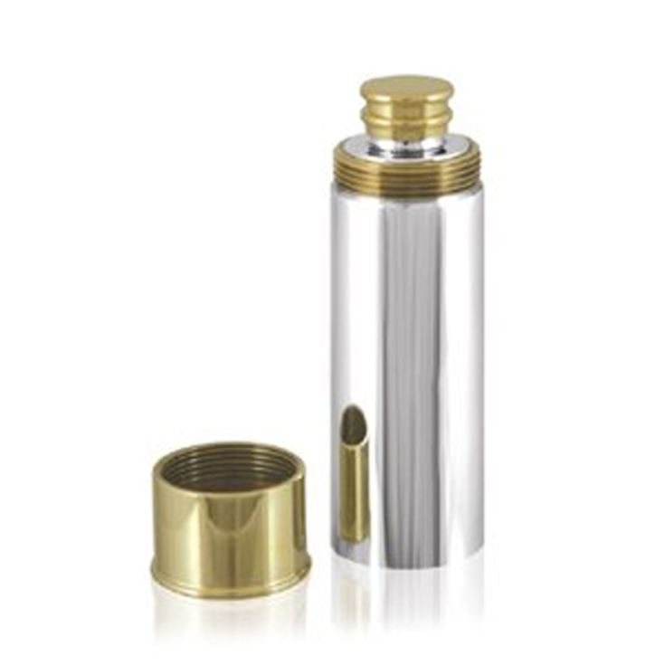 Personalised Gun Cartridge Hip Flask product image
