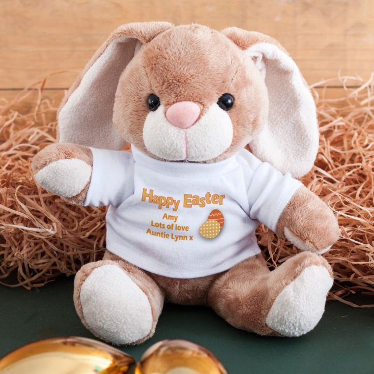 Happy Easter Personalised Bunny Rabbit product image