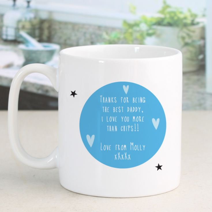 Personalised Happy Fathers Day Mug product image