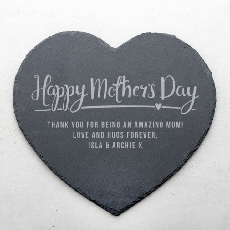 Personalised Mother's Day Slate Placemat product image