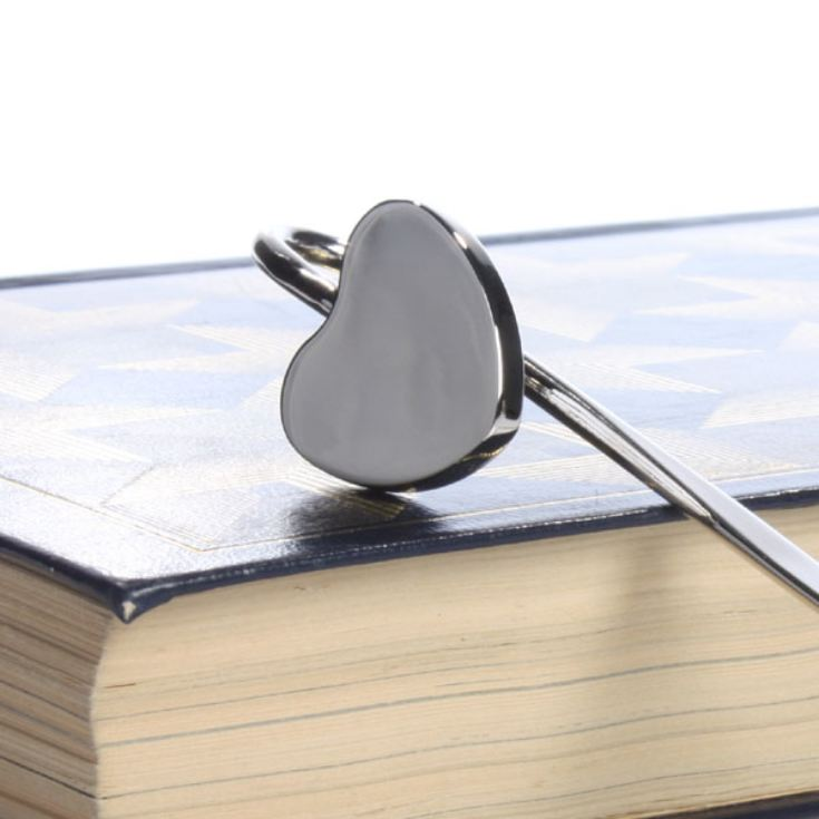 Engraved Heart Bookmark product image