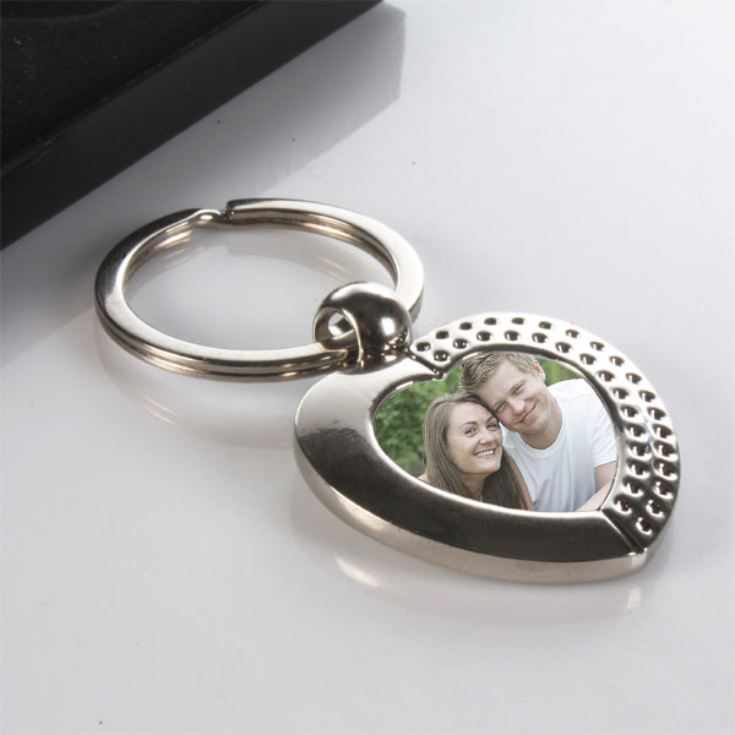 Personalised Heart Keyring product image