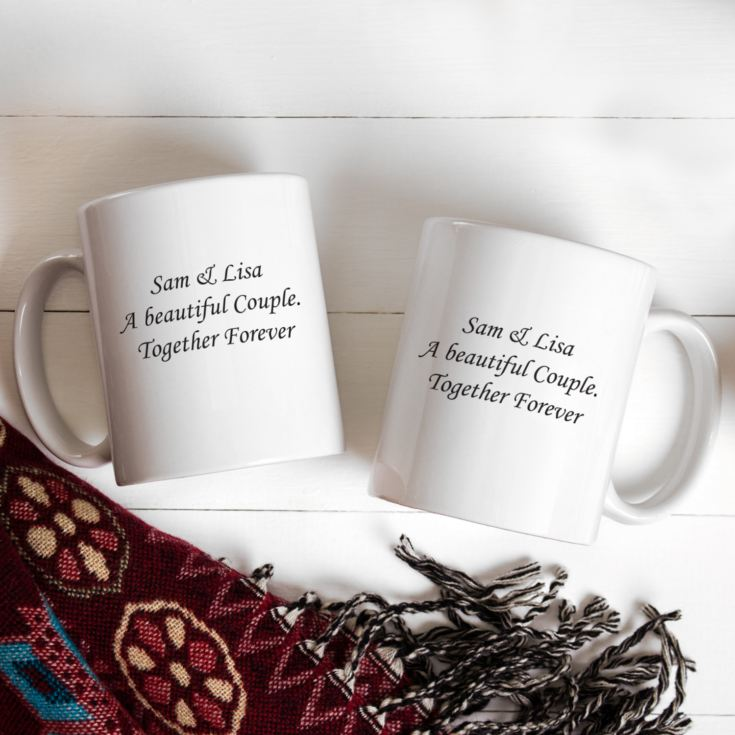 Pair of Hers & Hers Personalised Mugs product image